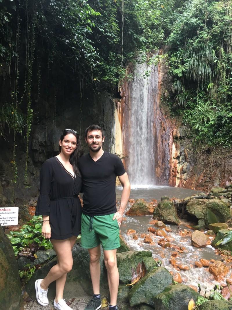Юджин Лаверти с женой (2016)