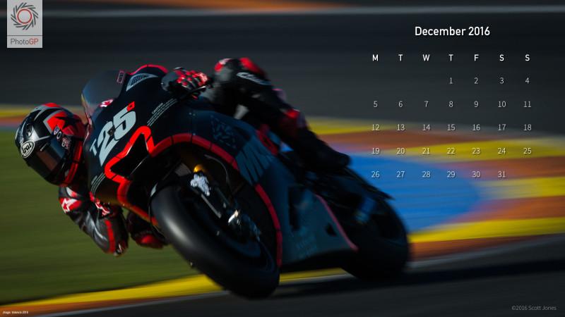 Календарь на декабрь 2016 от Скотта Джонса