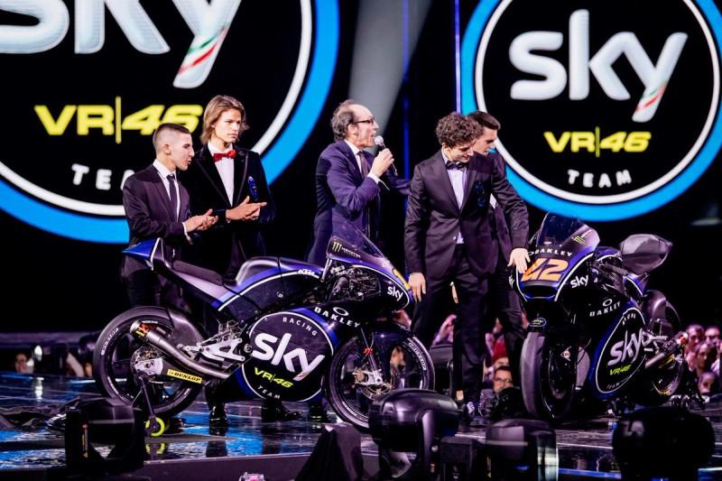 Презентация команды Sky Racing Team VR46 (2016)