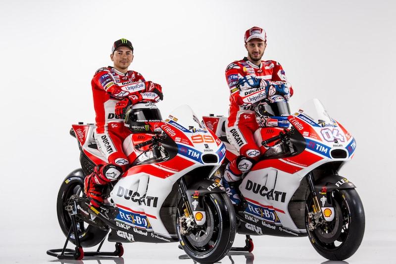 Лоренсо и Довициозо, Ducati Desmosedici GP 2017