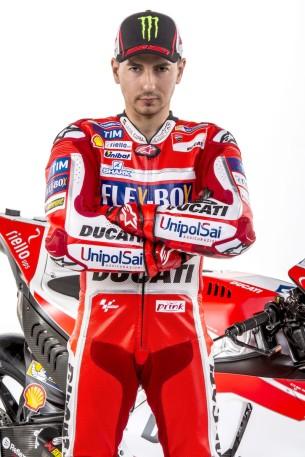 Хорхе Лоренсо, Ducati Desmosedici GP 2017