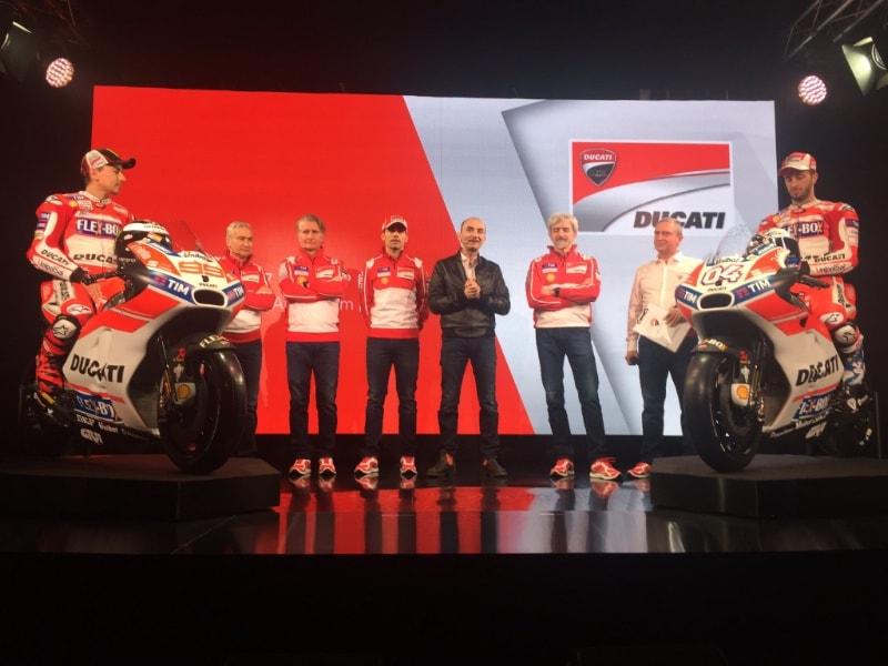Презентация Ducati Team MotoGP 2017