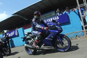 Виньялес представил Yamaha R15 в Индонезии