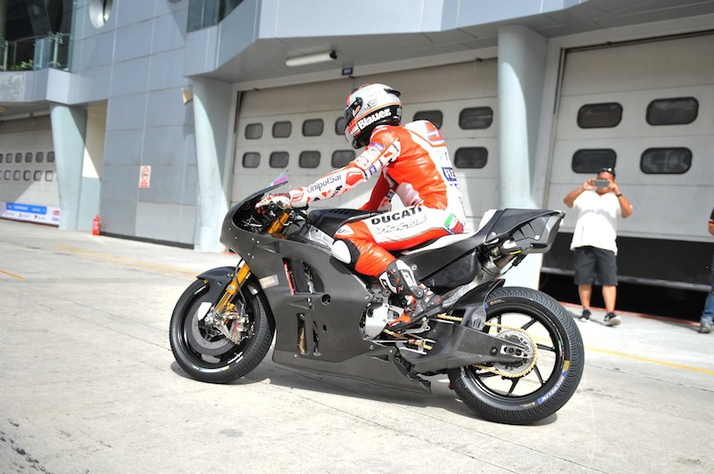 Микеле Пирро, тест-пилот Ducati