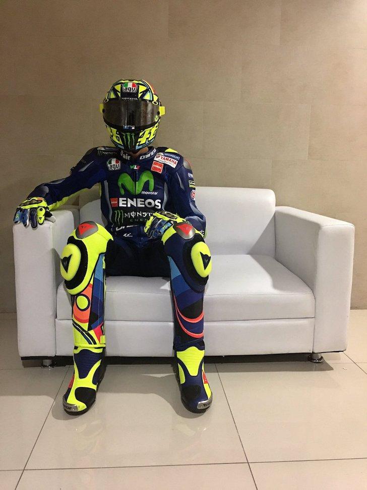 Валентино Росси в ожидании