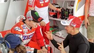 Хорхе Лоренсо и Кейси Стоунер, Ducati