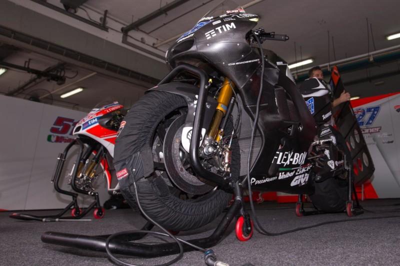 Ducati тесты