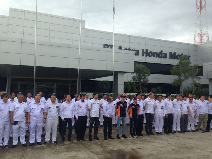 Маркес, Педроса, завод Honda