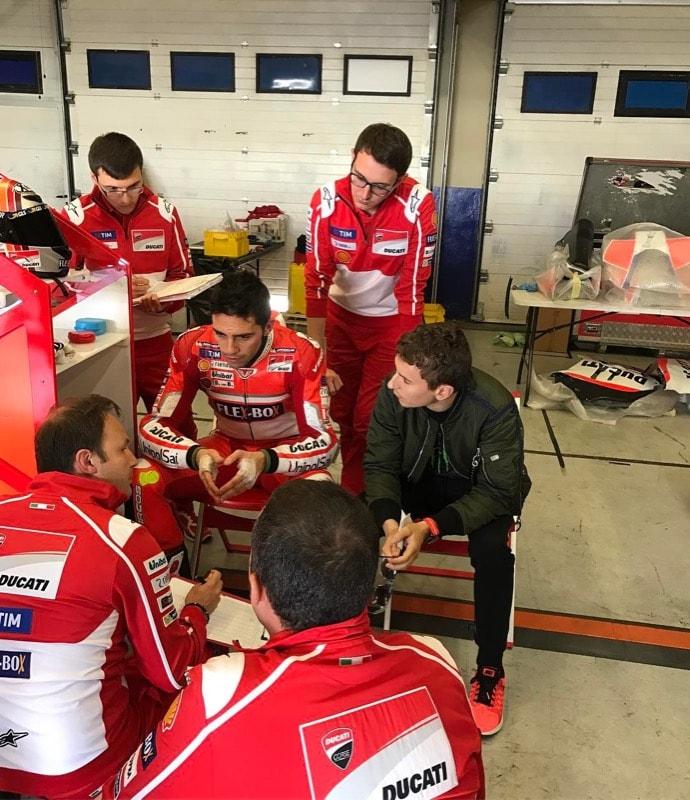 Лоренсо, Пирро, Ducati, передний обтекатель...