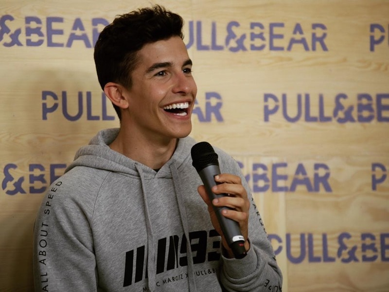 Марк Маркес на презентации коллекции Pull&Bear