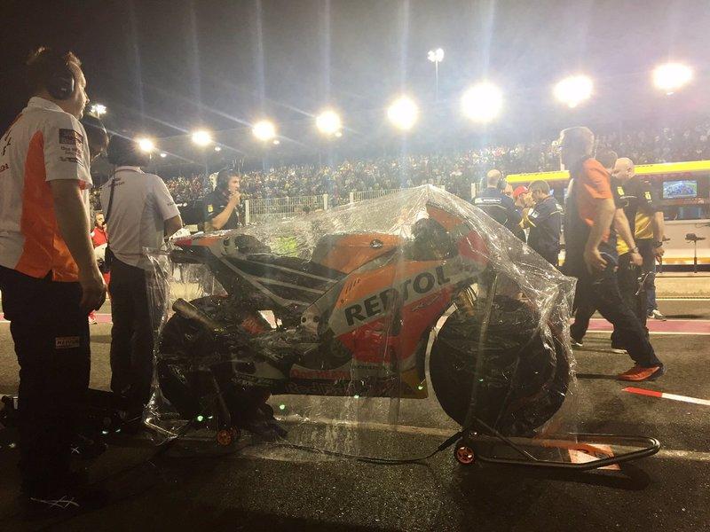 Катар, Repsol Honda Team, Маркес, дождь