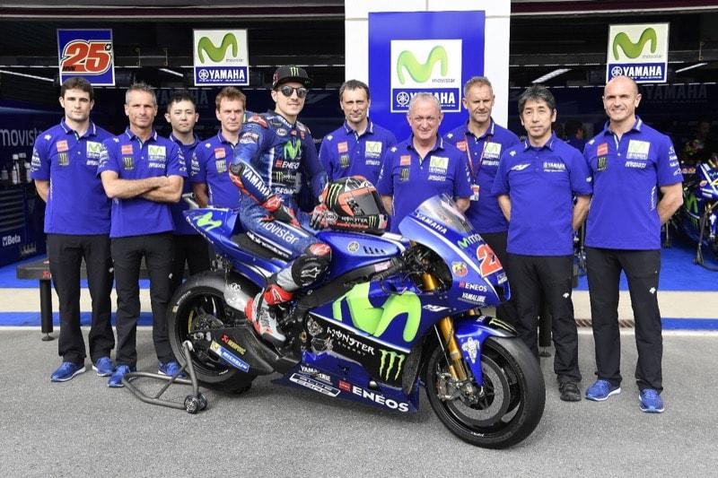 Movistar Yamaha MotoGP в полном составе