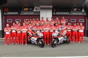 Ducati Team в полном составе
