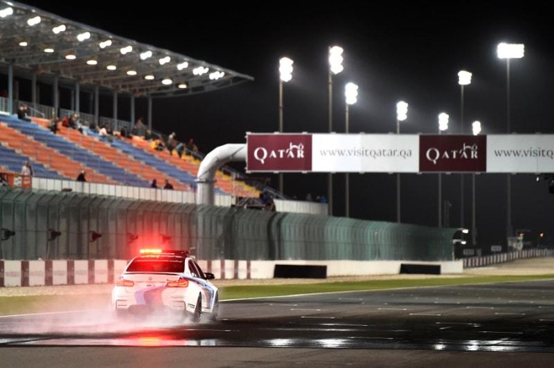 Катар. Лосайл, дождь, сейфти кар, safety car
