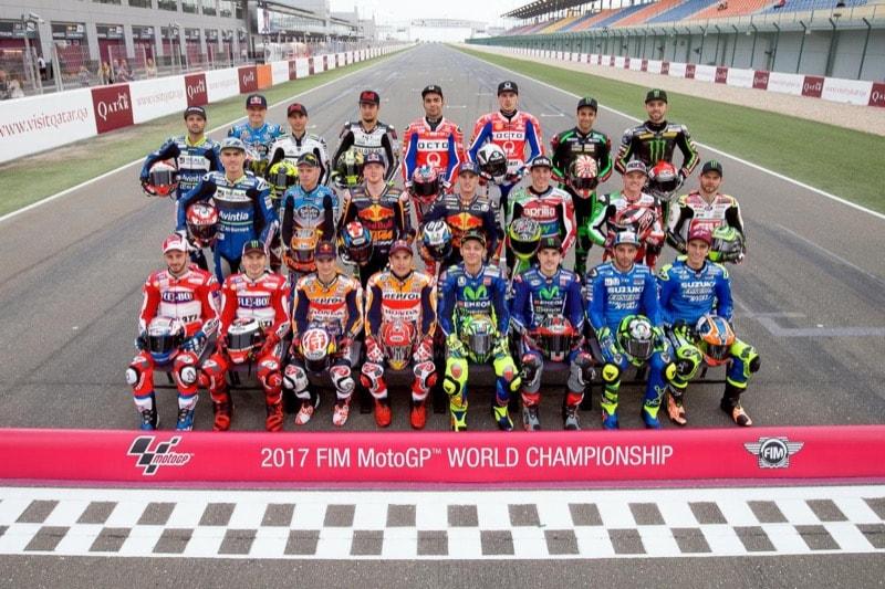 Групповая фотосессия MotoGP 2017