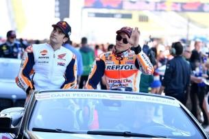 Педроса и Маркес 2017 03 GP Americas 00253