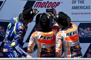 Росси, Маркес, Педроса 2017 03 GP Americas 00353