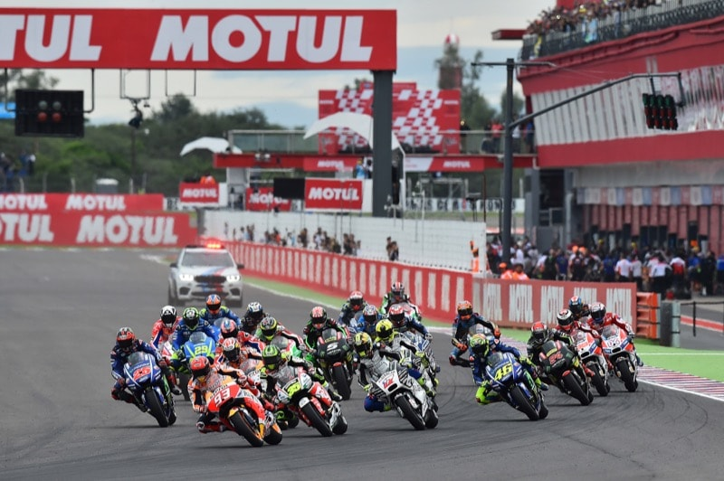 Старт, Термас де Рио Ондо| MotoGP Гран-При Аргентины 2017 | 2017 02 GP Argentina 00320