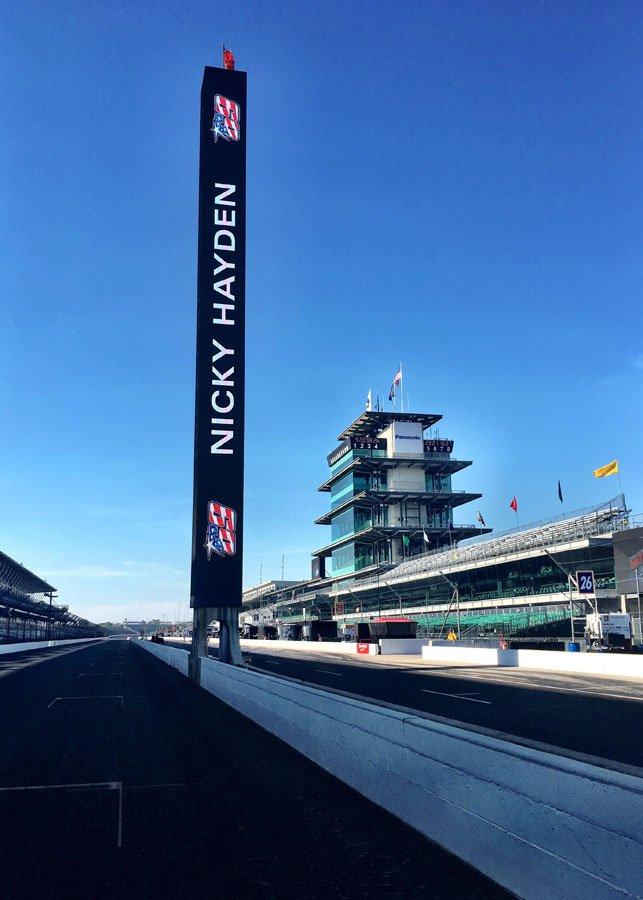 Indianapolis Motor Speedway вспоминает Ники Хэйдена (2017)