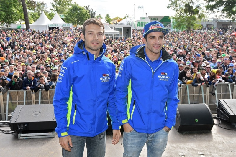 Гвинтоли и Ианноне   MotoGP Гран-При Франции 2017   2017 05 GP France 00409