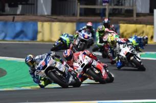Барбера, Петруччи   MotoGP Гран-При Франции 2017   2017 05 GP France 00430