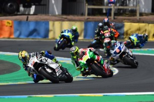 Абрахам, Алейш Эспаргаро, Барбера  MotoGP Гран-При Франции 2017   2017 05 GP France 00433