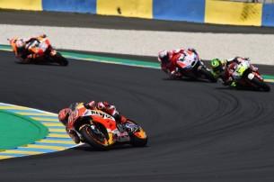 Маркес, Крачлоу, Довициозо   MotoGP Гран-При Франции 2017   2017 05 GP France 00442