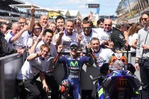 Виньялес, 500-ая победа Yamaha   MotoGP Гран-При Франции 2017   2017 05 GP France 00493