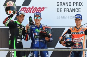 Зарко, Маверик Виньялес, Педроса   MotoGP Гран-При Франции 2017   2017 05 GP France 00509