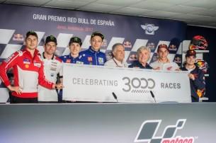 Лоренсо, Крачлоу, Виньялес, Росси, Агостини, Ньето, Маркес, Педроса, 3000 гонок, Испания, Херес, MotoGP 2017