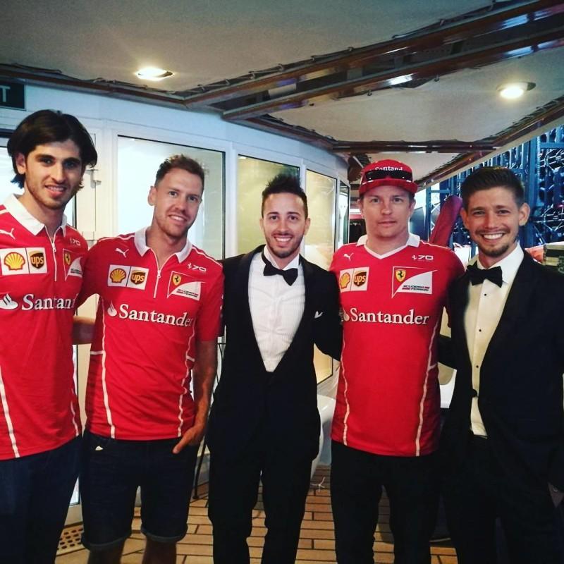 Довициозо и Стоунер на Гран-При Монако (2017)