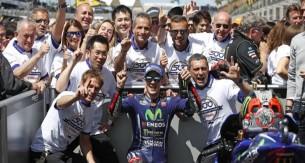 Виньялес, Yamaha, 500-ая победа