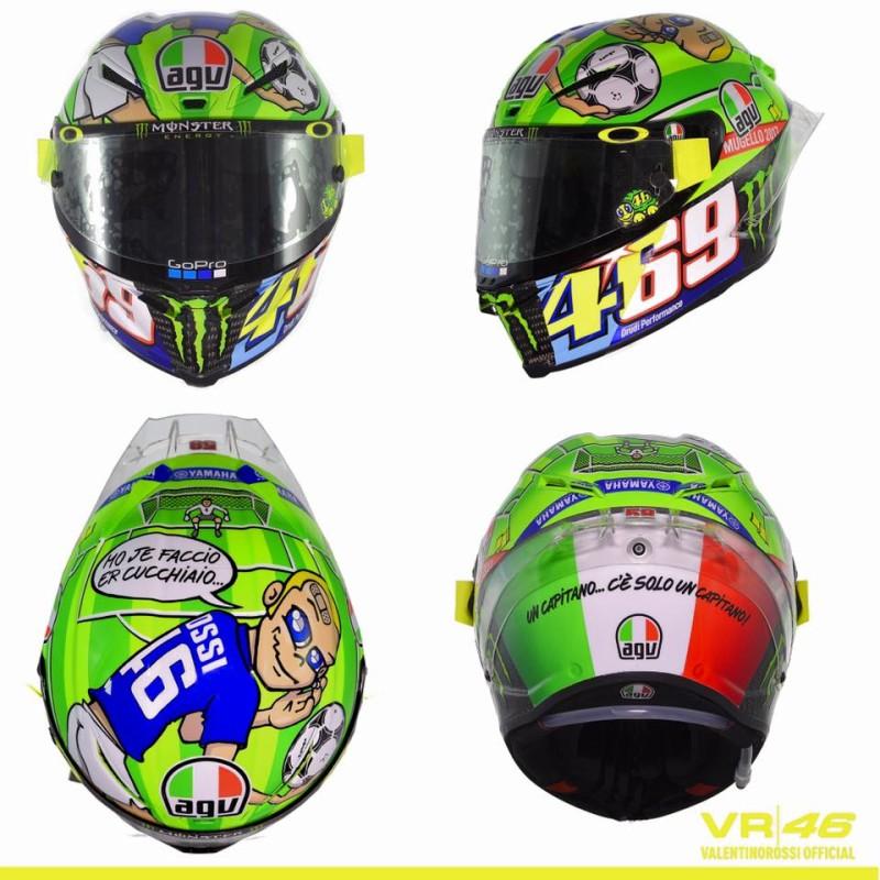 Шлем Росси для Гран-При Италии 2017