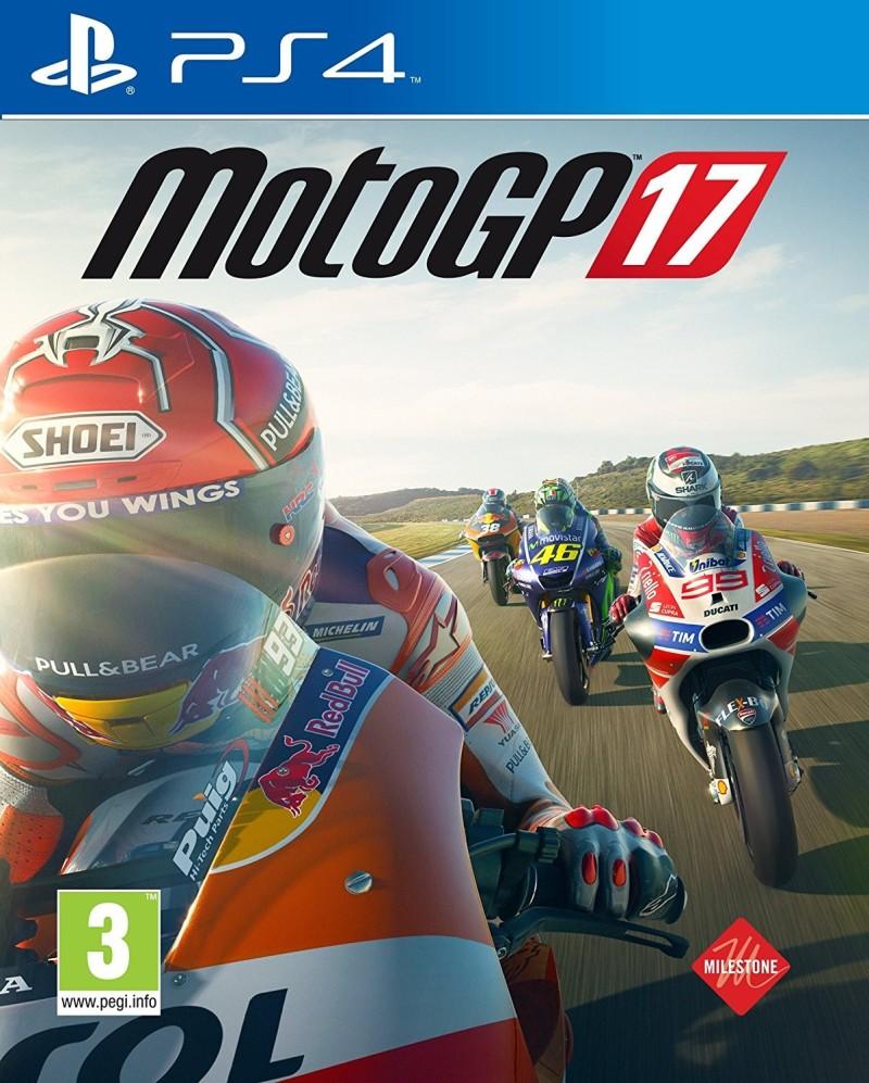 Обложка видеоигры MotoGP 17