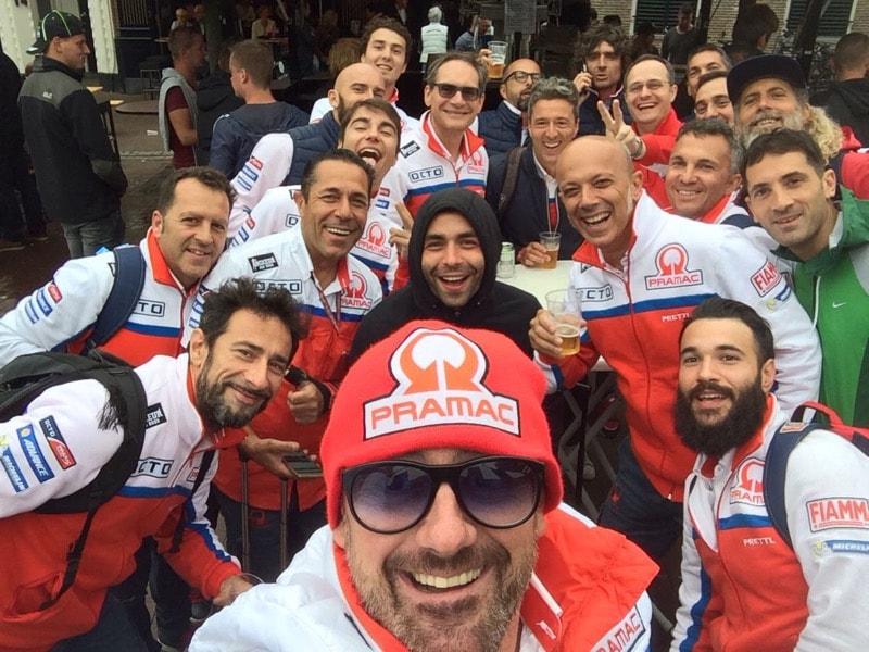 Данило Петруччи и команда Pramac Ducati