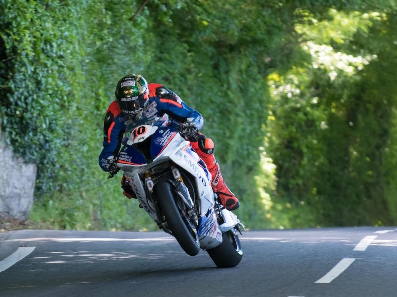 Питер Хикман на Isle of Man TT 2017