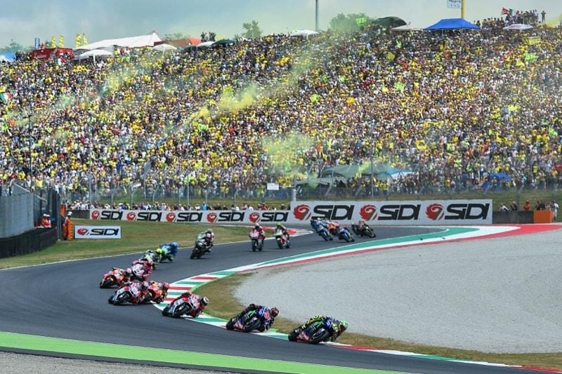 Старт, Муджелло | MotoGP Гран-При Италии 2017 |   00297