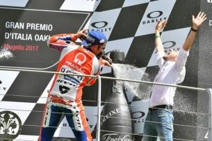 Подиум, Муджелло, Петруччи | MotoGP Гран-При Италии 2017 |   00408