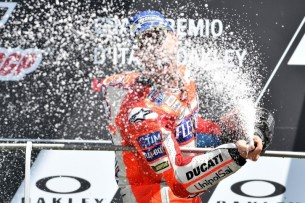 Подиум, Муджелло, Довициозо | MotoGP Гран-При Италии 2017 |   00410