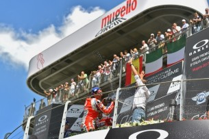 Подиум, Муджелло, Петруччи | MotoGP Гран-При Италии 2017 |   00412