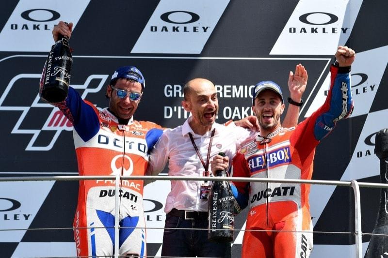 Петруччи, Доменикали, Довициозо | MotoGP Гран-При Италии 2017 |   00414
