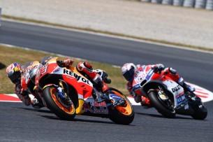 Маркес, Довициозо   MotoGP Гран-При Каталонии 2017    00405