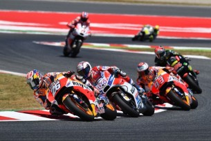 Педроса, Довициозо, Маркес   MotoGP Гран-При Каталонии 2017    00415