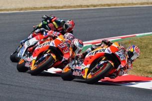 Педроса, Маркес   MotoGP Гран-При Каталонии 2017    00432