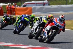 Лоренсо, Баутиста, Росси  MotoGP Гран-При Каталонии 2017    00434