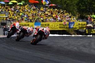 Довициозо, Маркес, Педроса   MotoGP Гран-При Каталонии 2017    00440