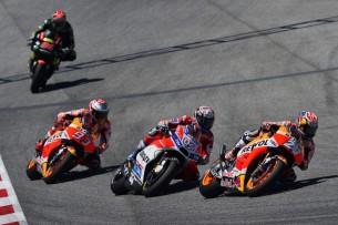 Педроса, Довициозо, Маркес   MotoGP Гран-При Каталонии 2017    00455