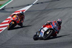 Довициозо, Маркес  MotoGP Гран-При Каталонии 2017    00458