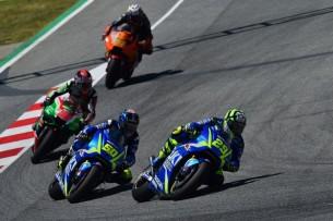 Ианноне, Гвинтоли, Лоус, Пол Эспаргаро  MotoGP Гран-При Каталонии 2017    00461