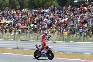 Довициозо, победа   MotoGP Гран-При Каталонии 2017    00469